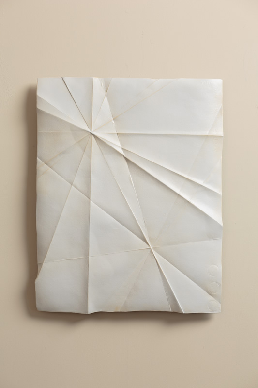folded paper sculptures