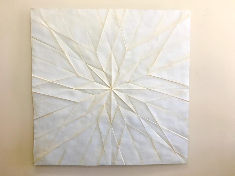 star paper metal sculpture