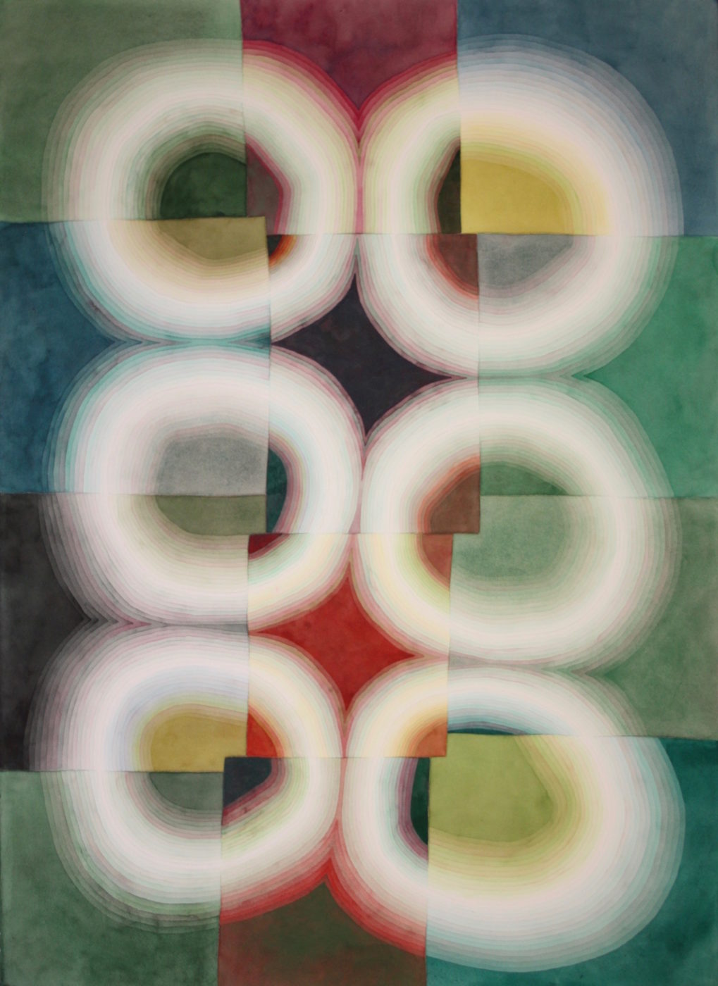 Light Rings Green