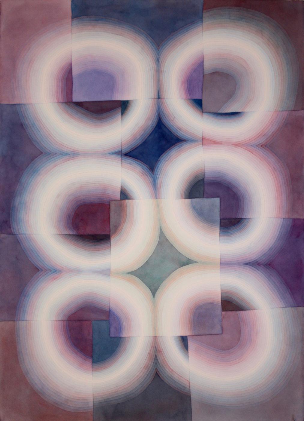 Light Rings Violet