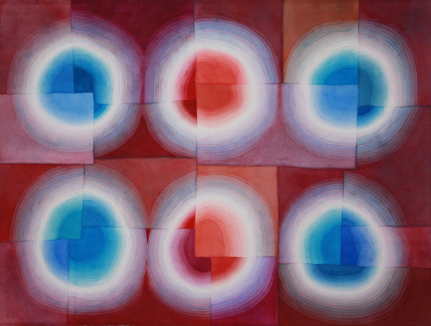 Light Rings Red/Blue