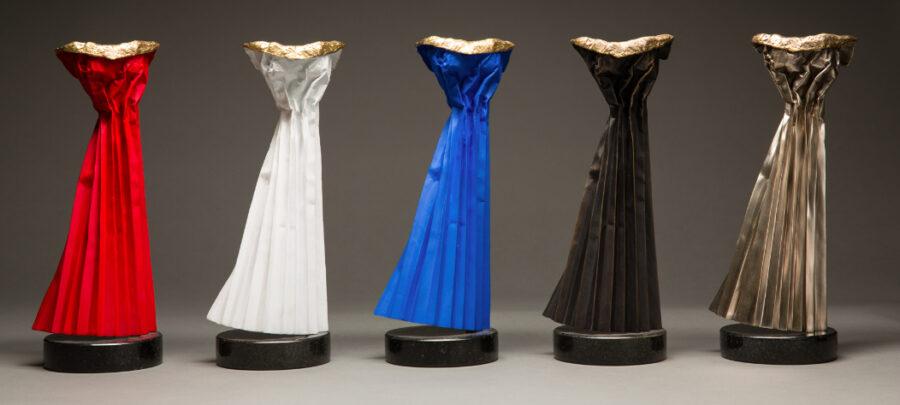 paper dress sculpture
