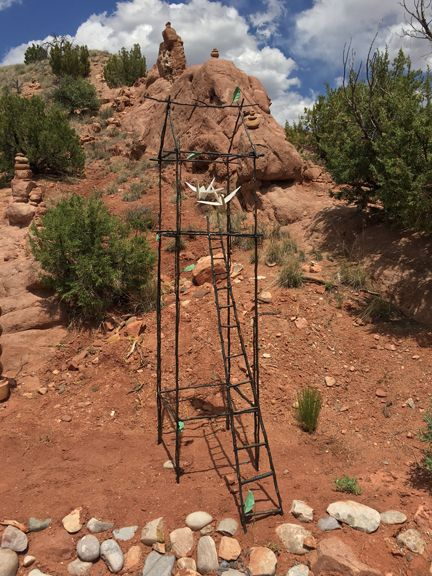 Spirit House with Ladder