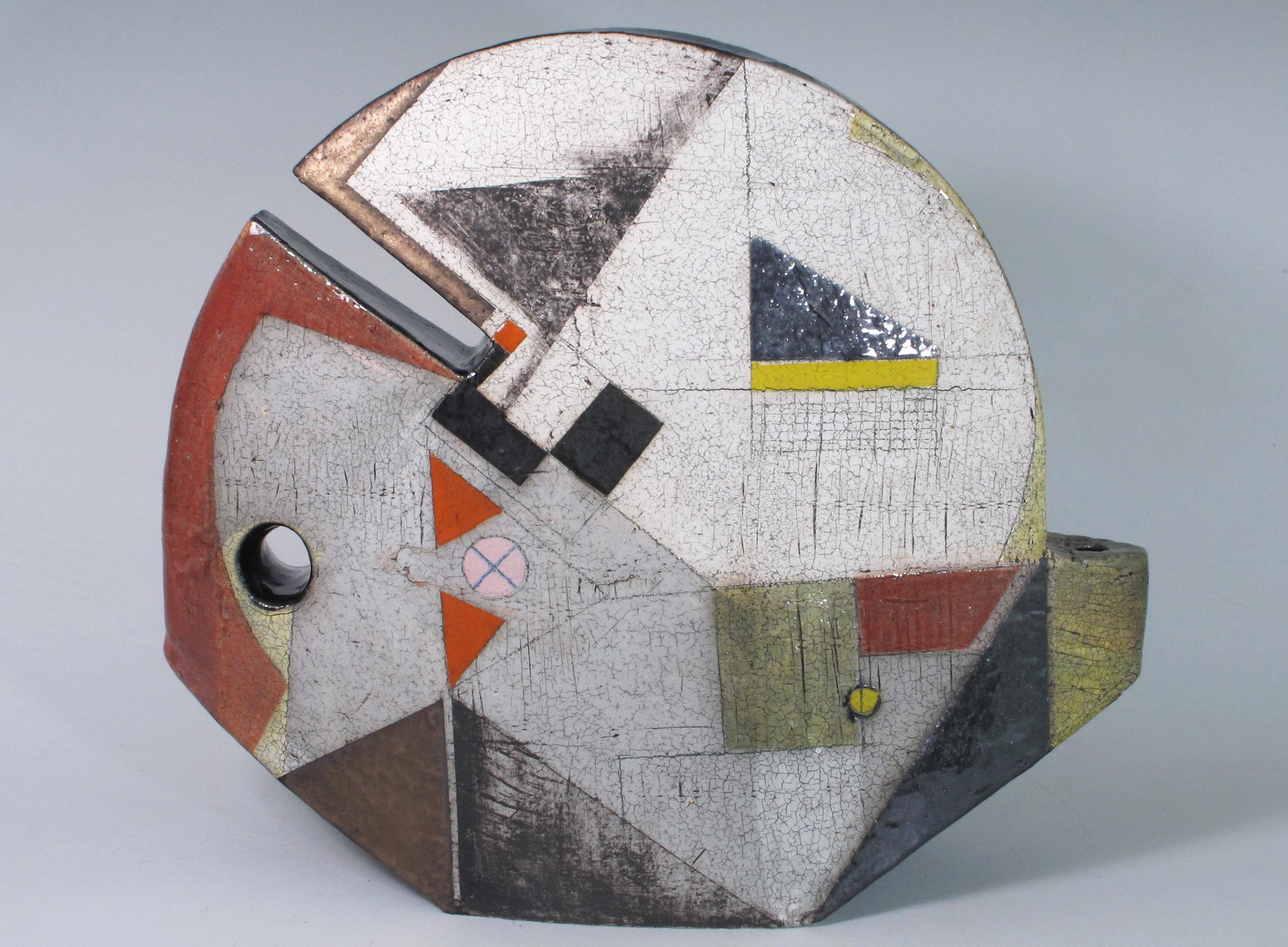Sheryl Zacharia  ceramic sculpture`