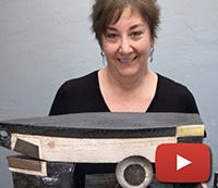 Sheryl Zacharia presents new artwork from her studio in Santa Fe, NM