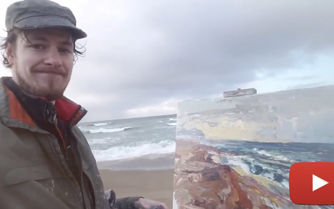 Plein air painter Nathanael Gray takes you along for the journey