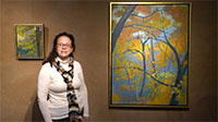 Karla Winterowd takes you on a tour of new artwork by Rick Stevens