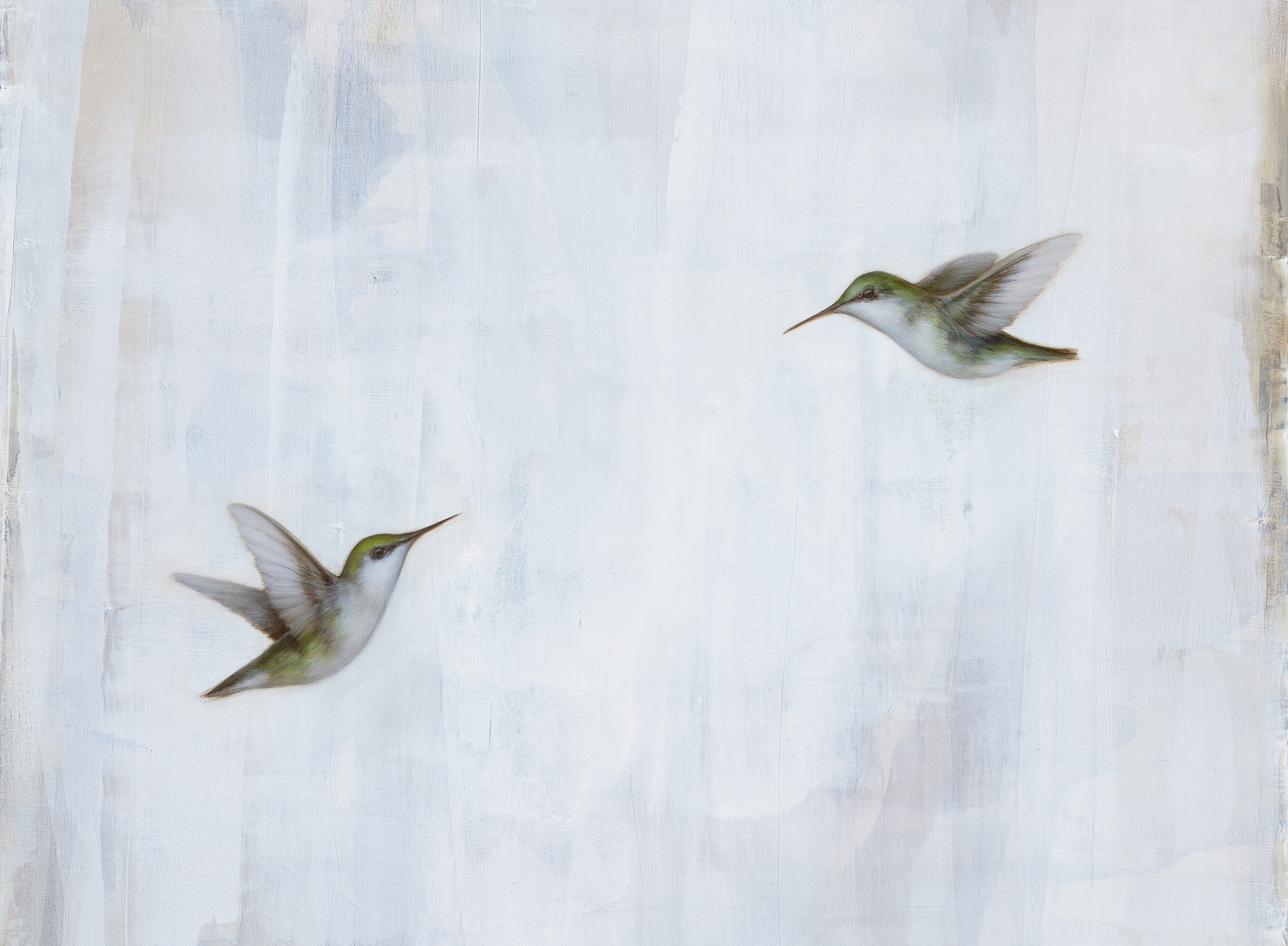 Jessica Pisano  paintings inspired by nature