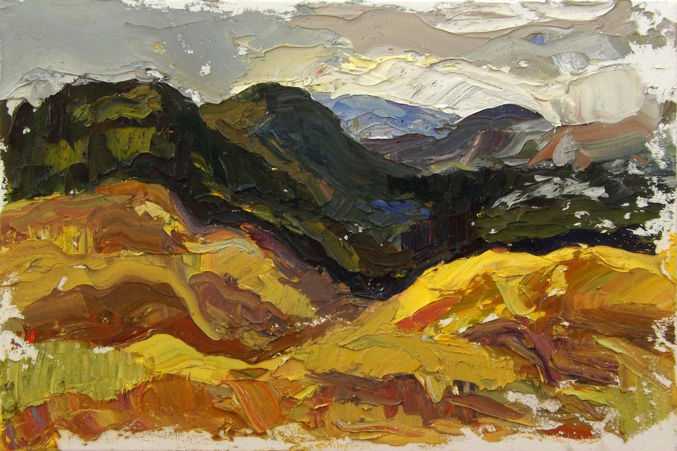 Nathanael Gray  plein air landscapes